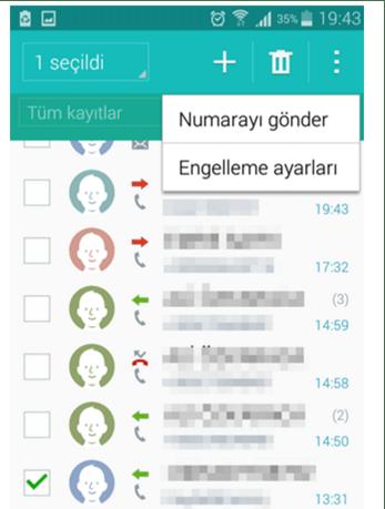 android_numara_engelleme