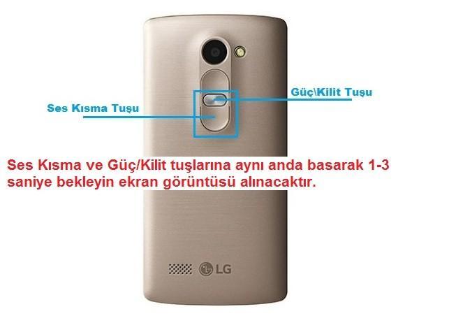LG G4 Ekran Görüntüsü Nasıl Alınır