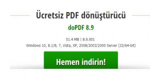 PDF dönüştürme