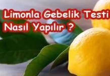 limonla-hamilelik-testi