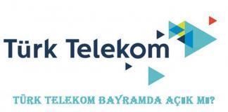 Türk Telekom Bayileri Bayramda Açık Mı?