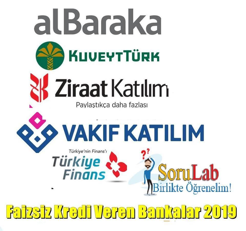 faizsiz-kredi-veren-bankalar-2019